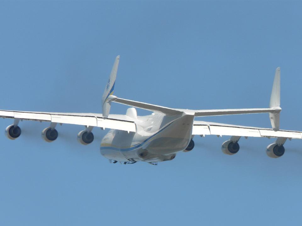 Comment to das größte flugzeug der welt die antonov 225 in