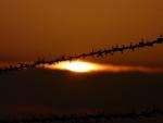 Sonnenuntergang am Fliegerhorst