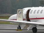 Nordholz Zivilflugplatz Cessna 525A CitationJet CJ2+ OE-FOE Avcon Jet AG