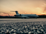 Nordholz Zivilflugplatz Gulfstream Aerospace G-V HDR