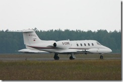 Nordholz Air Alliance Learjet 35A. D-CONE c/n 35-111