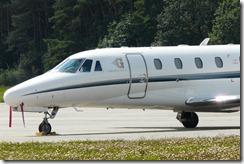 Zivilflugplatz Goldeck Flug Cessna 560XL Citation Excel