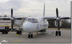 Antonov 26B Pskovavia RA-26101 Zivilfluglpatz Nordholz