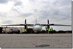 Antonov 26B RA-26101 Kuekentransport Zivilflugplatz Nordholz