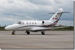 Cessna 525 CitationJet CJ1+ Zivilflugplatz D-IAIB
