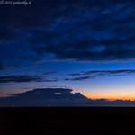 Spieka-Neufeld nach dem Sonnenuntergang