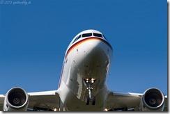 15+02 Airbus A319-133X CJ Luftwaffe