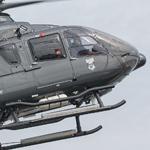 DL Helicopter boot mit dem EC-135 D-HDDL Rundflüge auf den Cuxhavener Hafentagen an