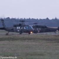 UH60A/L Black Hawk in Nordholz