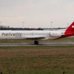 Fokker 100 Helvetic Airways HB-JVI