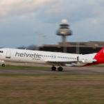 Fokker 100 Helvetic Airways HB-JVE