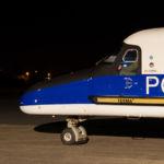 Do 228 NG 57+05 Nachtbild Bremerhaven
