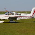 Grumman AA-5A N26292 Pilot und Flugzeug Sportflugplatz