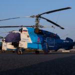 Kamov Ka-32S RA-31591 und RA-31574 in Bremerhaven Luneort