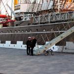 Krusenstern in Bremerhaven
