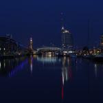 Nachtbild Havenwelten