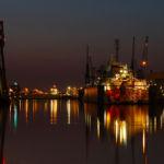Nachtbild Bremerhaven